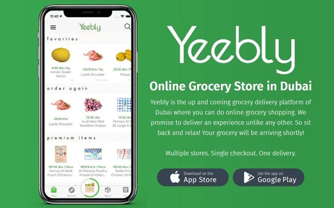 With YEEBLY Online Grocery Shopping becomes an easier task