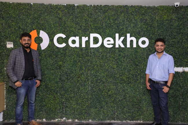 Amit Jain, Co-founder and CEO along with Anurag Jain, Co- founder and COO CarDekho group at the event in Jaipur